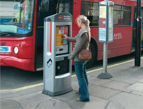 London RTM-TICKET-MACHINE